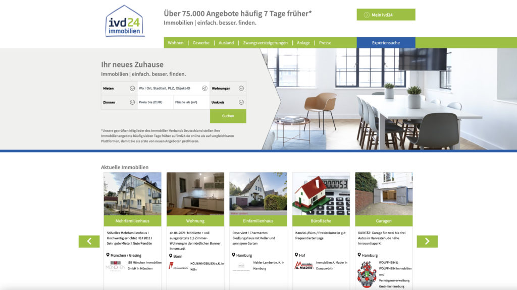 ISB Muenchen Immobilien IVD24