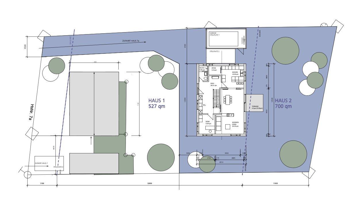 ISB Muenchen Immobilien Bauplan Feldkirchen 1